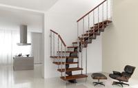 Klicka här för att konfigurera din trappa Genius Fontanot med rak utformning
